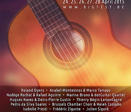 BRUSSELS INTERNATIONAL GUITAR FESTIVAL & COMPETITION 2015
