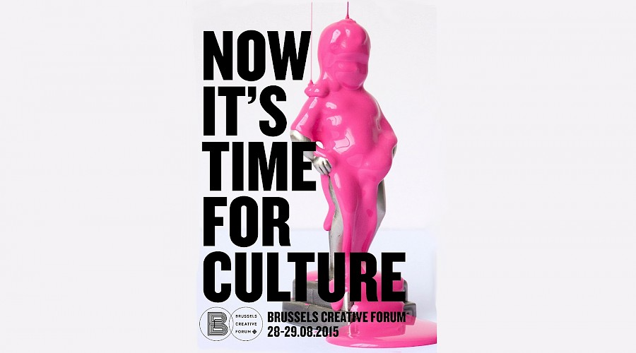 Brussels Creative Forum: Now, it's time for culture!