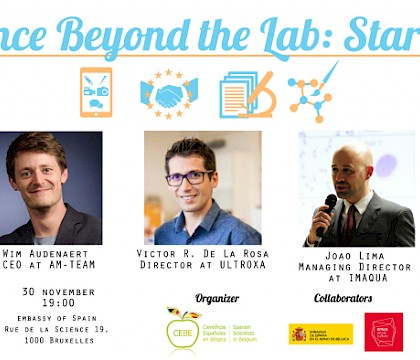 Science Beyond the Lab: Startups