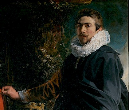 Jacob Jordaens and Spain de Matías Díaz Padrón