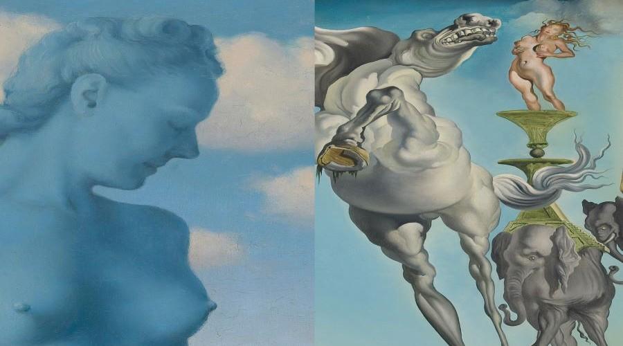 Dalí & Magritte: Dos iconos del surrealismo en diálogo